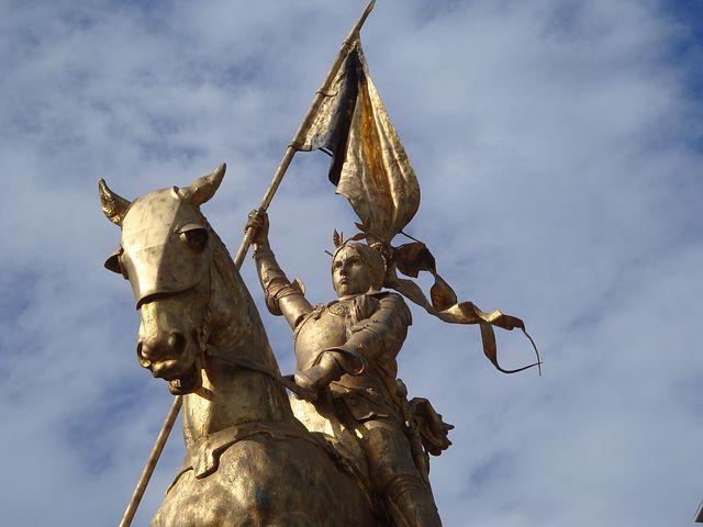 Statue von Jeanne d'Arc