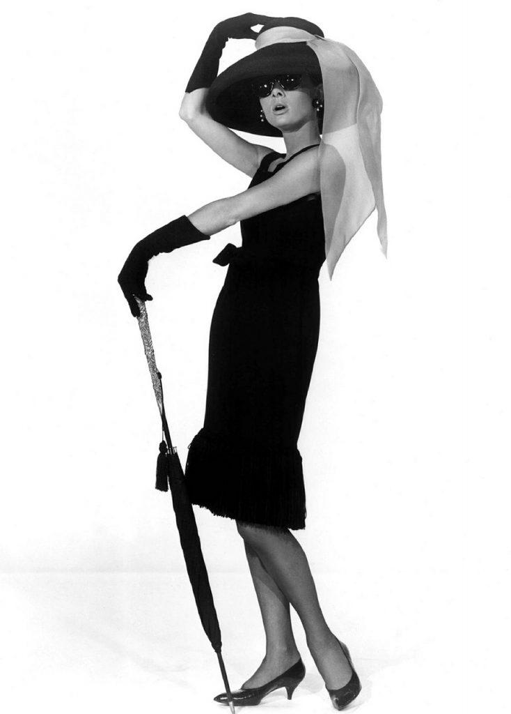 Audrey Hepburn im Kleinen Schwarzen