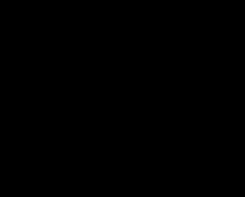 Ein Scherenschnitt eines Pumps. der Absatz ist der Eifelturm.