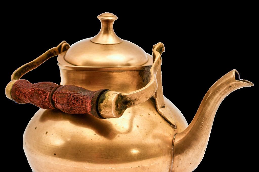 Ein altmodischer Teekessel